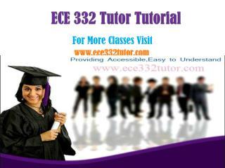 ECE 332 Tutor Peer Educator /ece332tutordotcom