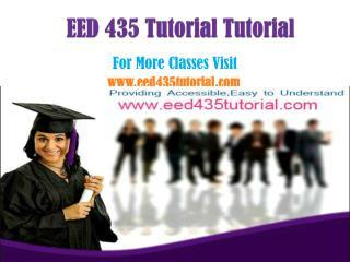 EED 435 Tutorial Peer Educator/eed435tutorialdotcom