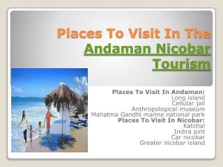 Andaman nicobar tourism 2015 16