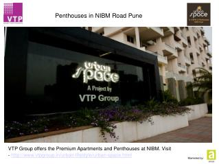 VTP - Urban Space - Penthouses in NIBM Road Pune