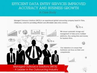Efficient Data Entry Services Improved Accuracy and Business Growth – A Case Study