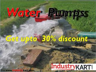 Buy Water Pumps Online at Guaranteed Lowest Prices