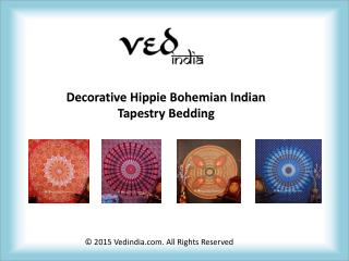 Decorative Hippie Bohemian Indian Tapestry Bedding