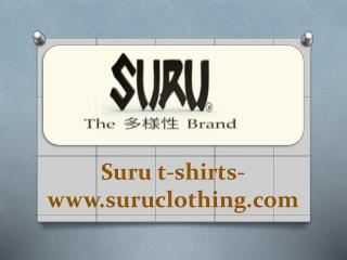 Suru t-shirts- www.suruclothing.com