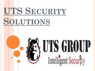 Locksmith Services - www.utssecuritysolutions.ca