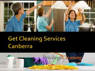 Get Cleaning Services Canberra