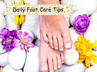 Daily Foot Care Tips