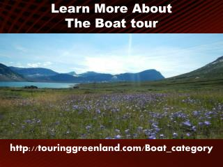 Learn More About The Boat tour