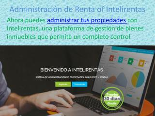 Administraci�n de Renta of Intelirentas