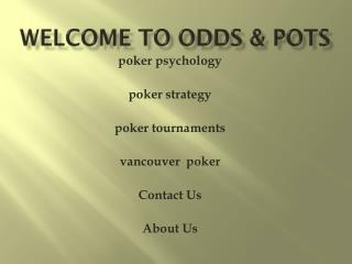 vancouver poker