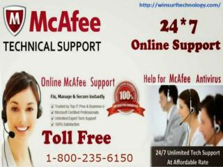 McAfee Tech Support