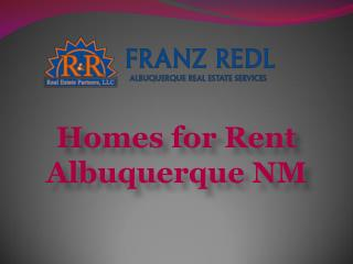 Homes for Rent Albuquerque NM