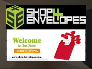 Shop Online Mailing Envelopes and Quality Products