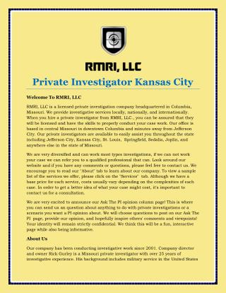 Private Investigator Kansas City