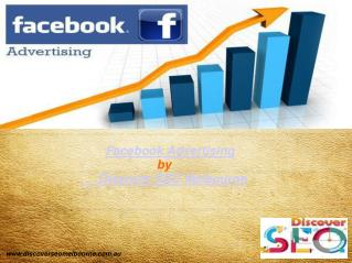Facebook advertising  services| Discover SEO Melbourne