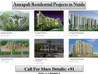 Amrapali Residential Projects in Noida
