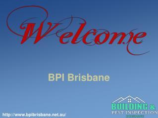 BPI Brisbane | Termite Inspections Brisbane.