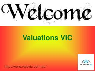 Obtain Property Settlement Valuation Service with Valuations VIC