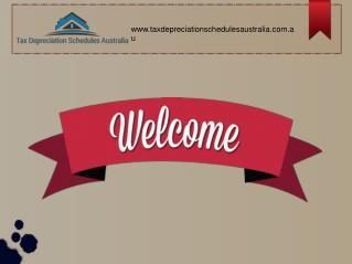 Tax Depreciation Schedules Australia for Rental Property Depreciation.
