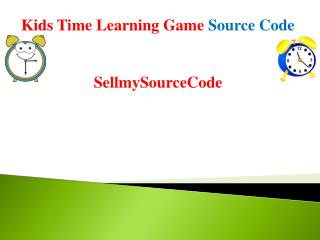 Kids Learning Shapes & Color - Educational Game Source Code
