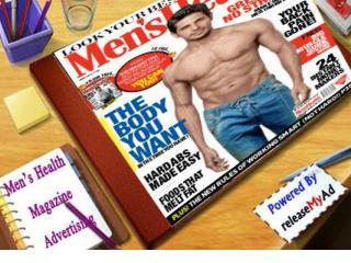 Advertising on Men's Health Magazine
