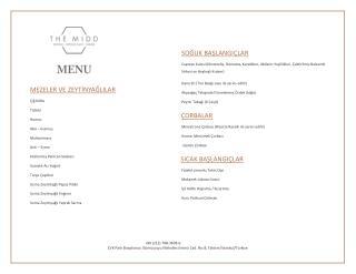 Themidd restaurant