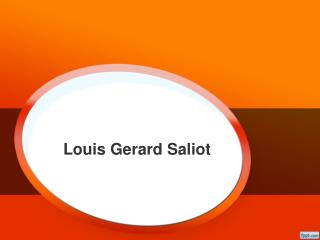 Louis Gerard Saliot | CEO of EAM Group Singapore