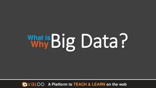 What is Big Data? Why Big data?   Big Data Online Training