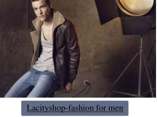 Lacityshop-fashion for men