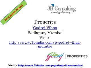 Godrej Vihaa - Best Residential Project Badlapur Mumbai