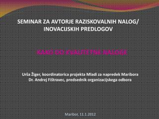 Maribor, 11.1.2012
