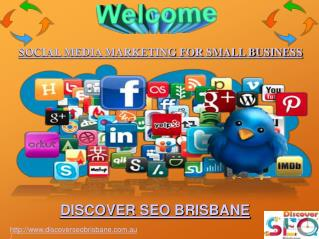 Social Media Marketing for Small Business | Discover SEO Brisbane