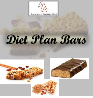 Diet Plan Bars