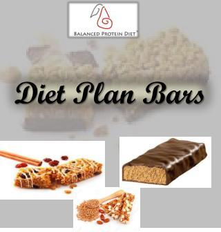 Diet Plan Bars