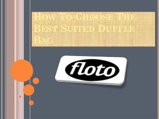 Leather Bags For Women At Floto Imports