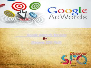 Google  Ad Words Services | Discover SEO Perth