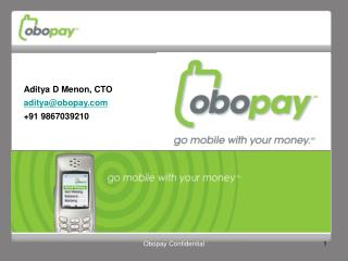 Obopay Confidential