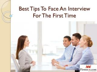 Best Tips To Face An Interview For The First Time
