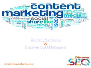 Content Marketing Services | Discover SEO Melbourne