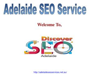 Discover SEO Services Adelaide serve you to quality Search engine optimisation services around Australia, with online ma