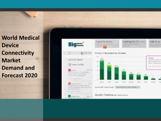 World Medical Device Connectivity Market Demand and Forecast 2020