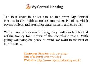 Landlord Boiler Covers in Manchester,UK