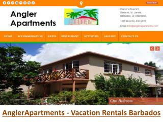 Angler Apartments - Vacation Rentals Barbados