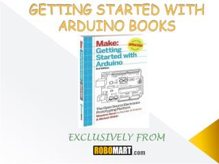 Buy Arduino Books From Robomart