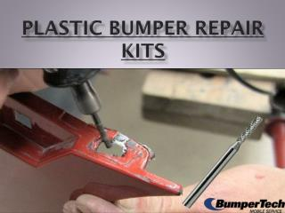Plastic Bumper Repair kits By Bumpertech