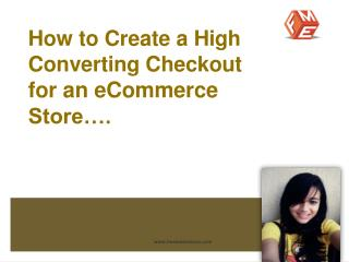 Design an eCommerce Checkout Page that Converts