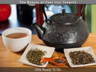 The Beauty of Cast Iron Teapots