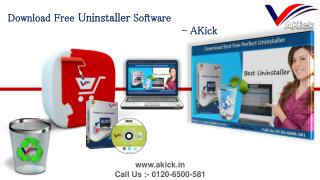 AKick - Download Free Best Software Removal Tool