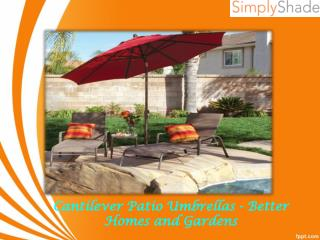 Cantilever Patio Umbrellas - Better Homes and Gardens