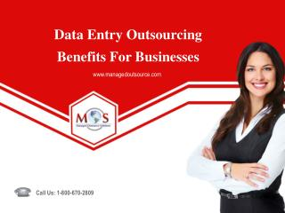 Data Entry Outsourcing Benefits For Businesses